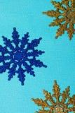 圣诞节雪花 免版税库存照片