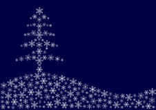 圣诞节雪花 图库摄影