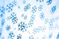 圣诞节雪 免版税库存照片