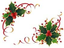 圣诞节霍莉 库存图片