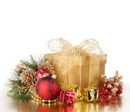 圣诞节静物画 免版税库存图片