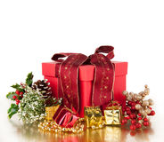 圣诞节静物画 库存图片