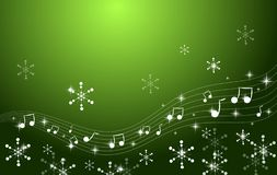 圣诞节音乐会背景 皇族释放例证