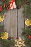 圣诞节题材背景 免版税库存照片