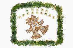 圣诞节题材装饰 免版税库存照片