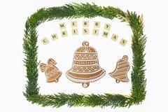 圣诞节题材装饰 免版税图库摄影