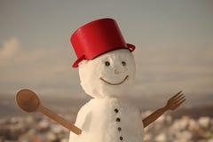 圣诞节食物烹调 免版税库存照片
