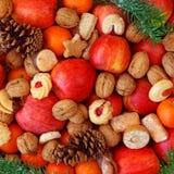 圣诞节食物 免版税图库摄影