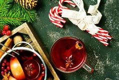 圣诞节饮料 免版税库存照片