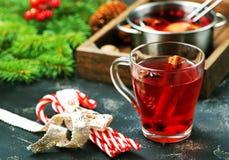圣诞节饮料 库存图片
