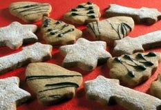 圣诞节饼干 免版税库存照片