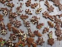 圣诞节饼干 库存图片
