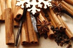 圣诞节香料 免版税库存图片