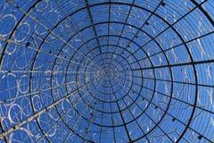 圣诞节马德里sol结构树 图库摄影