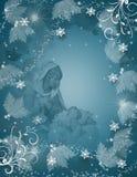 圣诞节魔术诞生场面 免版税库存照片