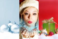 圣诞节魔术 免版税图库摄影