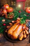 圣诞节鸭子 图库摄影
