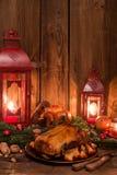 圣诞节鸭子 免版税库存图片
