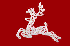 圣诞节鹿玩具 图库摄影