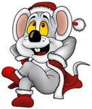 圣诞节鼠标 免版税图库摄影