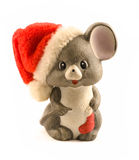 圣诞节鼠标 图库摄影