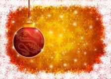 圣诞节龙例证装饰品年 皇族释放例证