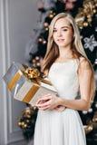 圣诞节, x-mas,冬天,幸福概念- 免版税库存照片