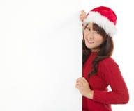 圣诞节年轻人gir 免版税图库摄影