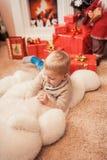 圣诞节系列愉快的时间 免版税库存图片
