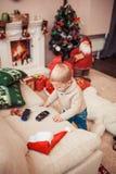 圣诞节系列愉快的时间 免版税图库摄影