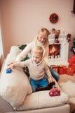 圣诞节系列愉快的时间 图库摄影