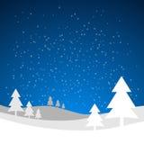 圣诞节贺卡背景 免版税库存图片