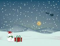 圣诞节贺卡, 免版税库存图片