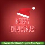 圣诞节贺卡, 免版税库存照片
