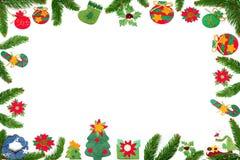圣诞节贺卡 皇族释放例证