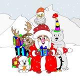 圣诞节贺卡 免版税库存图片