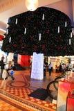 圣诞节@女王维多利亚大厦 免版税库存照片