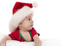 圣诞节婴孩 免版税库存图片