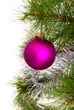 圣诞节结构树装饰 2016个新年 免版税库存图片