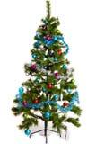圣诞节结构树装饰 2016个新年 库存图片