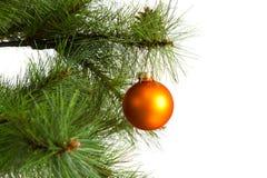 圣诞节结构树装饰 2016个新年 免版税库存照片