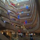 圣诞节购物中心 图库摄影