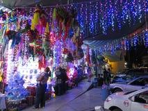 圣诞节购物在奇尔潘辛戈 免版税图库摄影