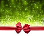 圣诞节绿色抽象背景 向量例证