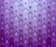 圣诞节紫色背景 库存图片