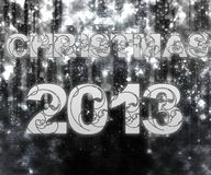 圣诞节2013年 库存图片