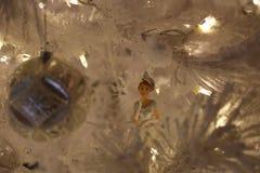圣诞节adornmnets -玩偶 库存照片