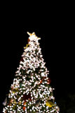 圣诞节bokeh 免版税库存图片