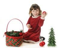 圣诞节Cutie 免版税库存图片