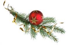 圣诞节dekoration结构树 免版税图库摄影
